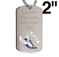 Victory Track Dog Tag