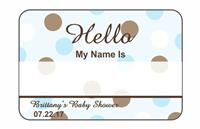 Hello Tags - Baby Shower Boy 2